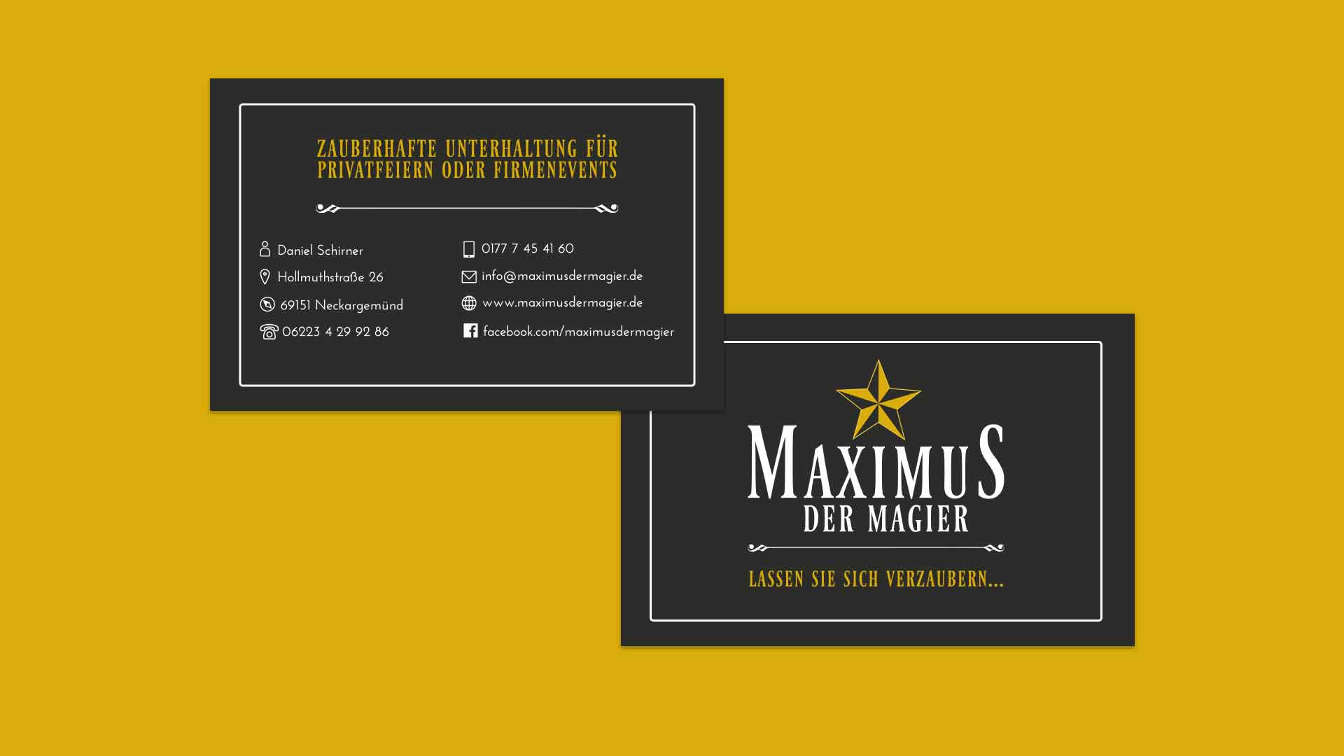 maximus_visitenkarten