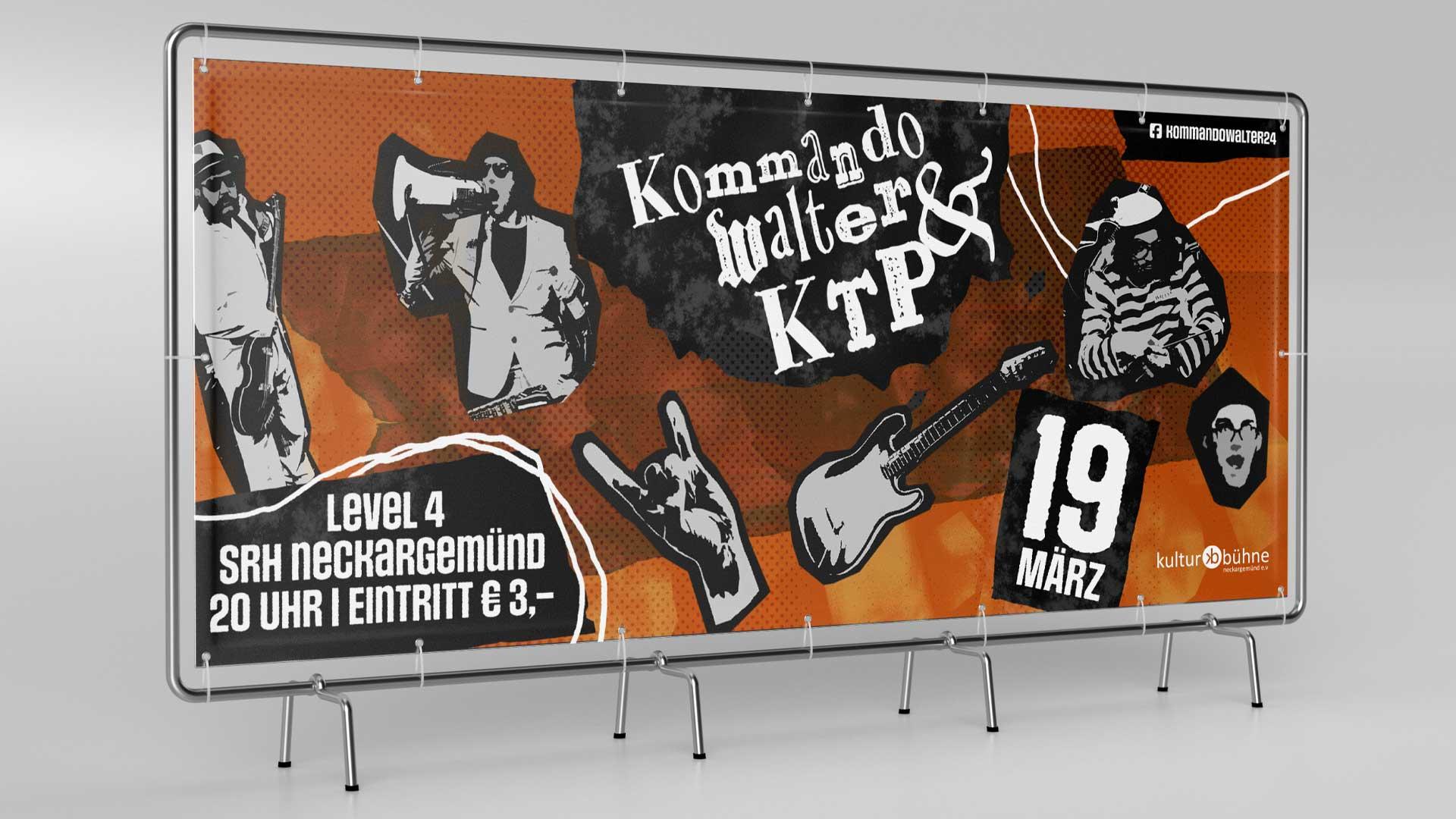 kulturbuehne_kommando_walter_auftritt_banner